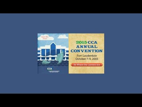 CCA Annual Convention Welcome Remarks