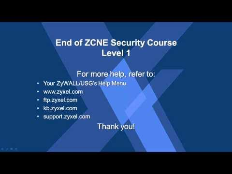 ZCNE Security Level 1 - End Of Level 1