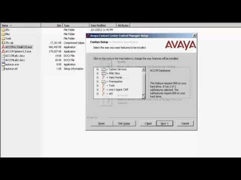 How To Install Modular Messaging Connector In Avaya Contact Center Control Manager
