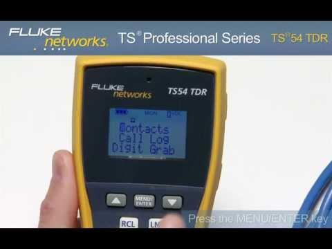 TS®54 TDR Telephone Test Set And Toner: By Fluke Networks