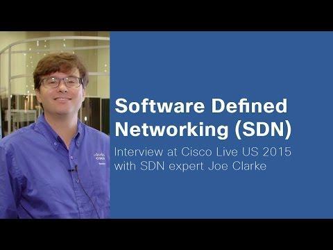 Cisco Live 2015 - Software Defined Networking (SDN) Expert Joe Clarke