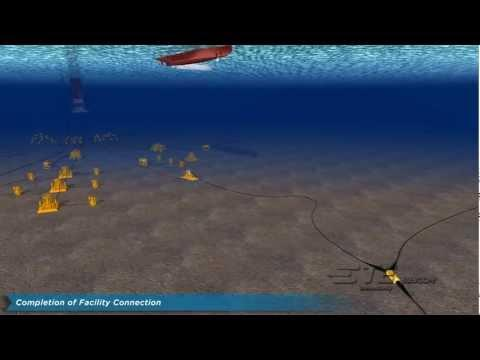 TE SubCom - Oil & Gas Platform - Undersea Fiber Optic Cable Connection