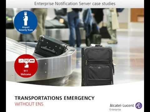 Case Study - Emergency Notification For Transportation