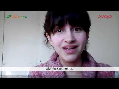 Avaya Spaces ~ Huerta Niño Foundation (English)