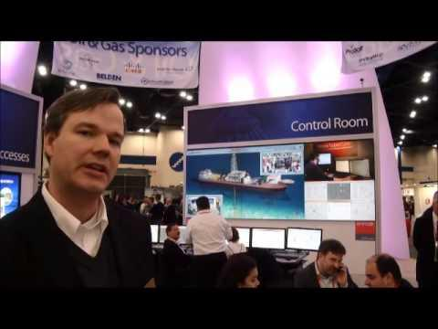 Automation Fair 2013: Cisco And Rockwell - Oil And Gas Control Room Of The Future