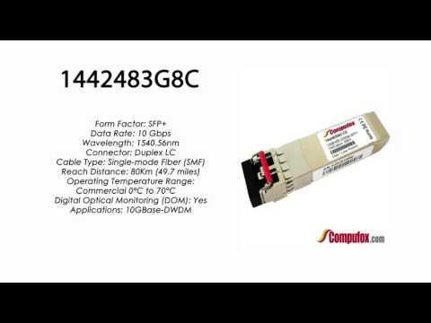 1442483G8C  |  Adtran Compatible 10GBase-DWDM 1540.56nm 80km SFP+