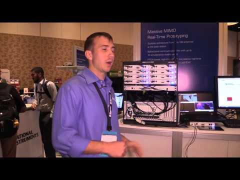 #Globecom: National Instruments Massive MIMO Real-time Prototyping System