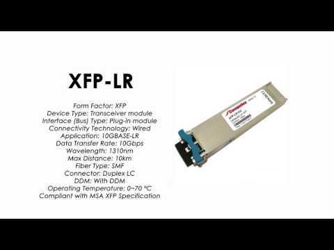 XFP-LR  |  ZyXEL Compatible 10GBase-LR XFP 1310nm 10km SMF