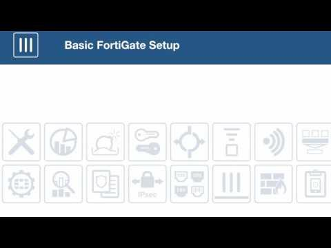 FortiOS 5.4 Basic FortiGate Configuration