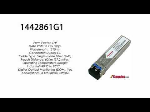 1442861G1  |  Adtran Compatible 3.125Gbps 1510nm 60km CWDM SFP