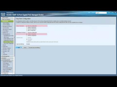 Configuring VLANs On Cisco 200 And 300 Series Managed Switches