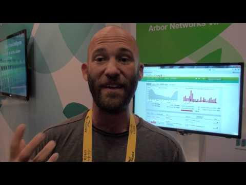 Arbor Networks DDoS Prevention At Cisco Live 2013