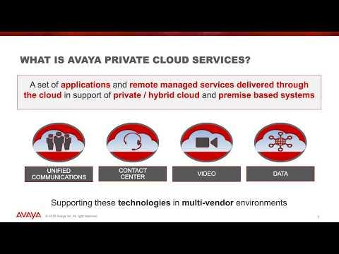 Forrester Total Economic Impact Of Avaya Private Cloud Services