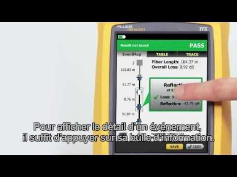 OptiFiber Pro - Demonstration, French Language: By Fluke Networks