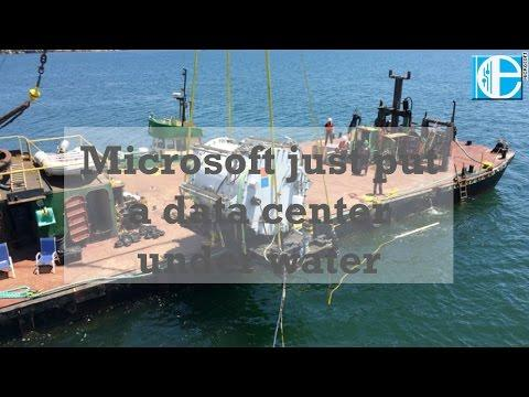 Microsoft Just Put A Data Center Under Water