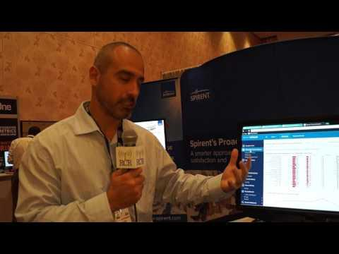 #LTENA: Spirent Demo Of InTouch Customer Network Analytics