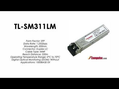 TL-SM311LM  |  TP-Link Compatible 1000Base-SX 850nm 550m SFP