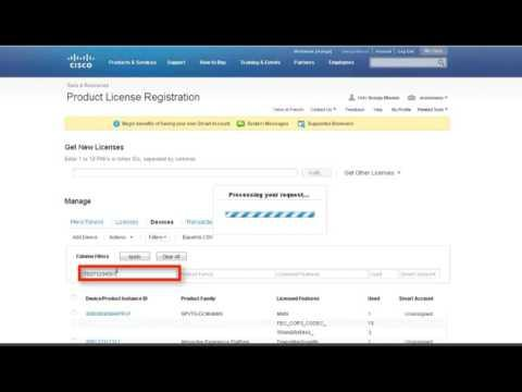 Cisco ISR G2 - Resend A License