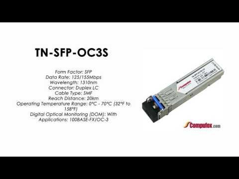 TN-SFP-OC3S  (Transition 100% Compatible Optical Transceiver)