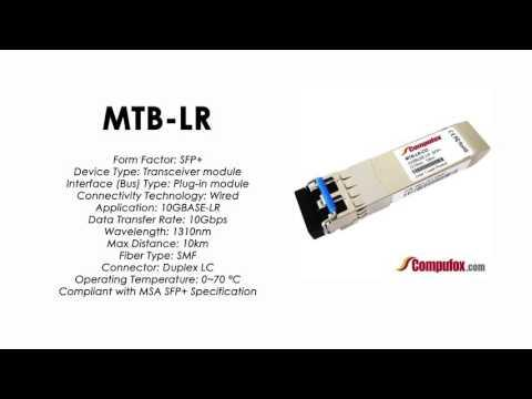 MTB-LR     Planet Compatible 10GBase-LR 1310nm 10km SFP+