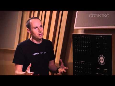 Universal Audio Uses Optical Cables By Corning In Studio 610