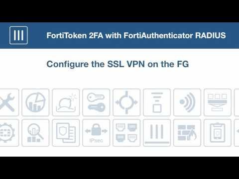 FortiToken 2FA With FortiAuthenticator RADIUS 5 4