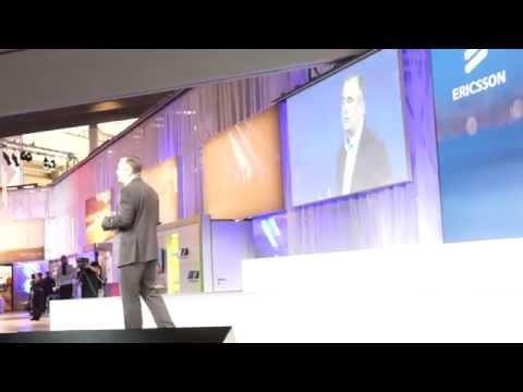 #MWC15 Brian Krzanich On Ericsson And Intel's Partnership
