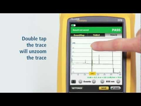 OptiFiber Pro OTDR - Secton 4: Fiber Testing With Auto OTDR Setting: By Fluke Networks
