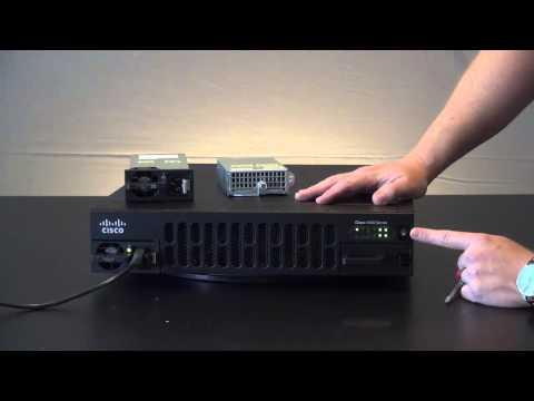 Installing A PoE Power Supply In A 4451/4351 ISR