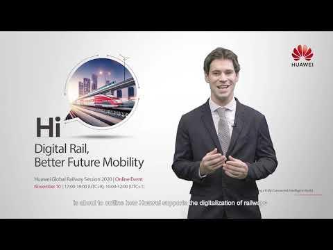 Huawei Global Railway Forum 2020 - Wong Chee Seang