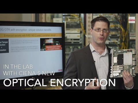 In The Lab With Ciena's 6500 Optical Encryption Solution