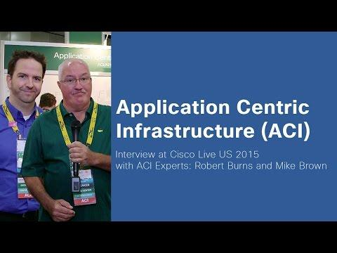 Cisco Live 2015 - ACI Experts Robert Burns And Mike Brown