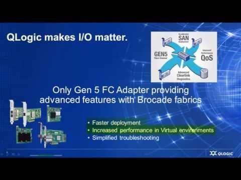 Make I/O Matter: Why QLogic For HP Environments