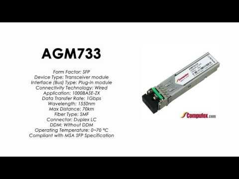 AGM733  |  Netgear Compatible 1000BASE-ZX 1550nm 70km SFP