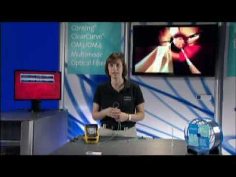 Corning® ClearCurve® Multimode Fiber Bending Video