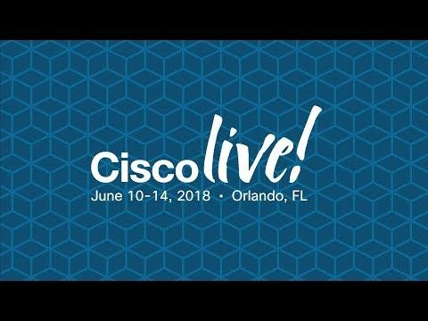 Cisco Live 2018: Delivering Intent For Data Center Networking
