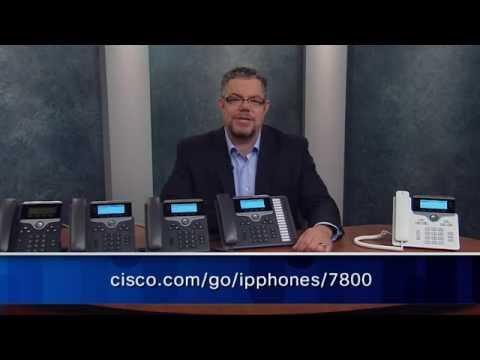 Cisco Unified IP Phone 7800 Series