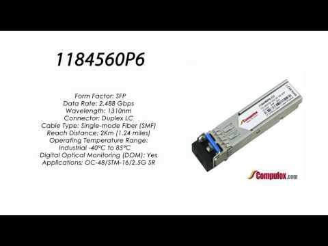 1184560P6  |  Adtran Compatible OC-48 1310nm 2km SFP