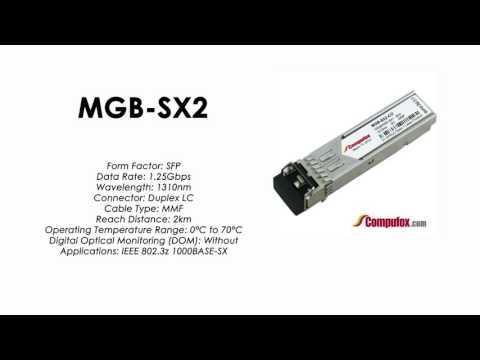 MGB-SX2  |  Planet Compatible 1000BASE-SX 1310nm 2km SFP