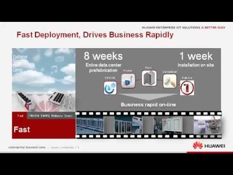 Huawei's CIO Forum:Container Data Center  Speed Up Time To Market