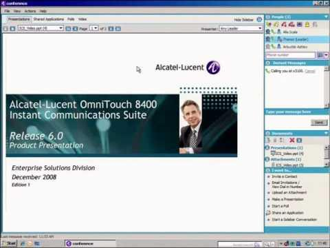 Alcatel-Lucent OmniTouch 8660 MyTeamwork German