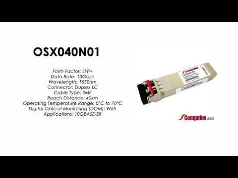 OSX040N01 |  Huawei Compatible SFP+ 10GBASE-ER SMF 1550nm 40km