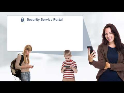 Juniper Security Service Creation Video For Mobile