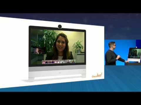 Cisco Collaboration Meeting Room Demo: Cisco Live, Rowan Trollope Collaboration Keynote