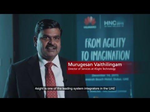 4Sight Technology At The Huawei Network Congress Middle East 2015