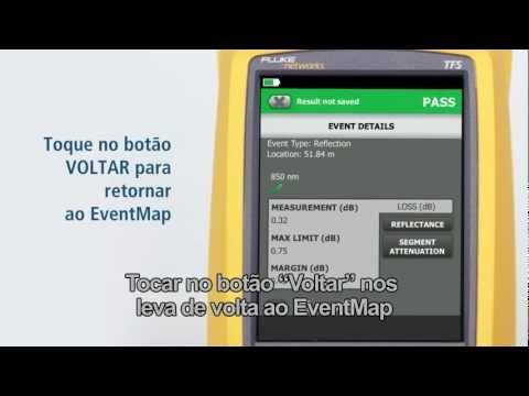 OptiFiber Pro - Demonstration, Portuguese Language: By Fluke Networks