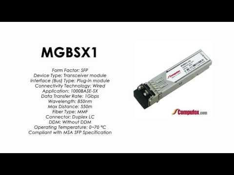 MGBSX1     Linksys/Cisco Compatible 1000Base-SX 850nm 550m SFP