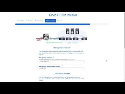 Demo: Upgrading Cisco DCNM ISO Virtual Appliance, Release 11.0(1)