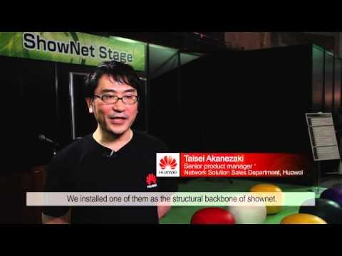 Interop Tokyo 2013:Huawei Contributes To Interop's ShowNet For The First Time