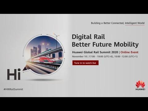Huawei Global Rail Forum 2020
